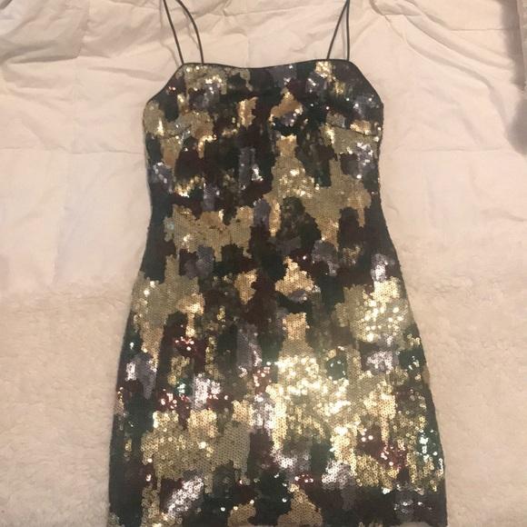 fdd7196d Missguided Dresses   Carli Bybel X Camo Sequin Dress   Poshmark